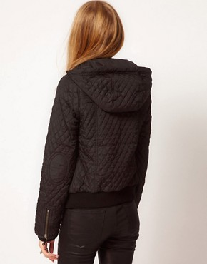 Image 2 ofPepe Quilted Hooded Jacket