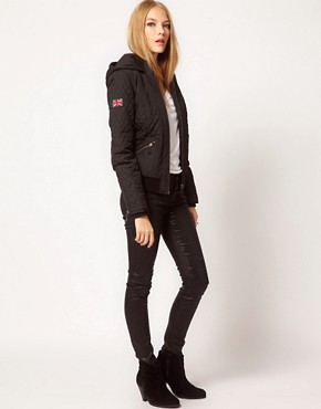 Image 4 ofPepe Quilted Hooded Jacket