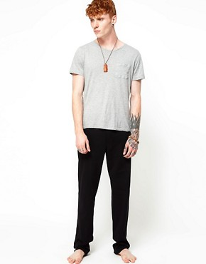 Image 4 ofDiesel Jersey Lounge Pants