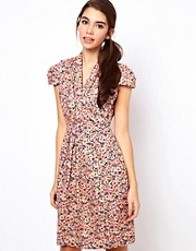 Emily &amp; Fin Floral Print Dress