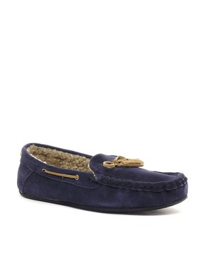 Image 1 ofKG Kurt Geiger Jacob Suede Slippers