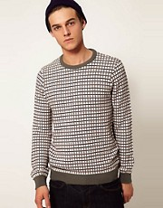 ASOS Geometric Jumper