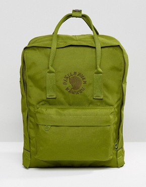 Fjallraven Re-Kanken Backpack in Green 16L