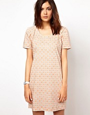 BZR Rachelle Woven Dress in Print