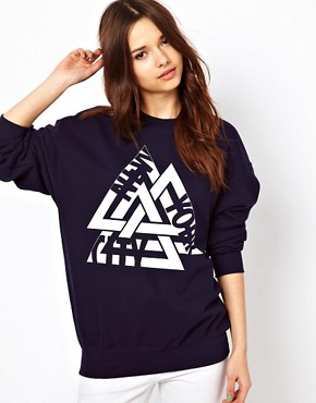 Image 1 ofRiver Island New York Sweat