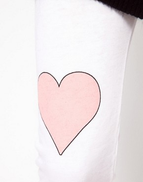 Image 3 of Wildfox Little Heart Track Pants