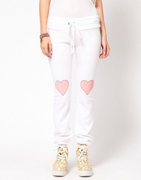 Image 4 of Wildfox Little Heart Track Pants