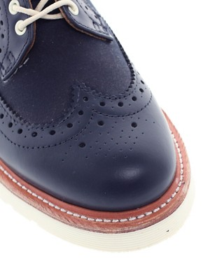 Image 2 ofDr Martens Windsor Alfred Brogue Shoes