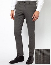 Selected Trousers in Prince of Wales Check