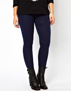 Image 4 ofASOS CURVE Full Length Leggings