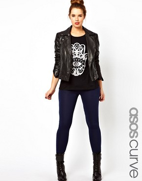 Image 1 ofASOS CURVE Full Length Leggings