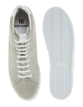 Image 3 ofRiver Island Hi-Top Trainers