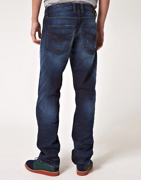 Image 2 ofDiesel Larkee Relaxed Straight Jeans