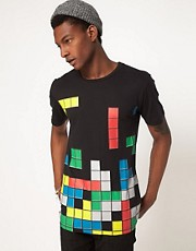 Camiseta con estampado de Tetris exclusiva para ASOS UK de BePriv