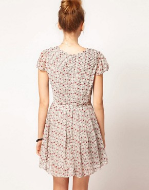 Image 2 ofPepe Ditsy Floral Print Tea Dress
