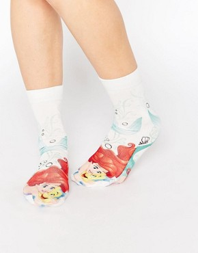ASOS Disney's Little Mermaid Ankle Socks