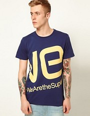 WESC T-Shirt Blown Up Logo