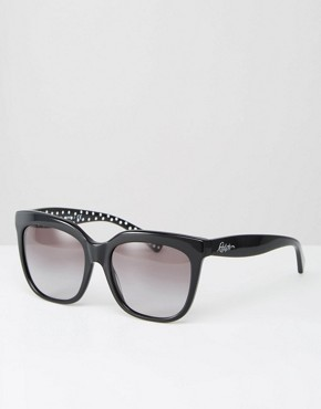 Ralph by Ralph Lauren Sunglasses with Polka Dot Detail