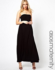 ASOS Maternity Bandeau Maxi Dress
