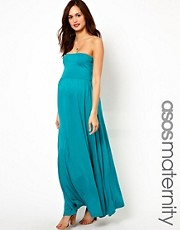 ASOS Maternity - Vestito lungo a fascia