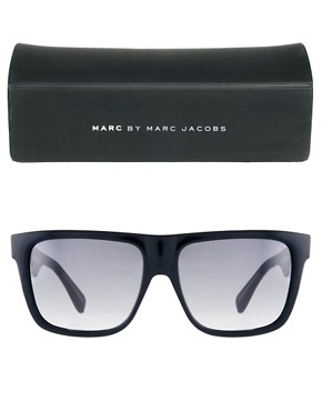 Image 2 ofMarc by Marc Jacobs Flat Brow Sunglasses
