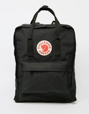 Fjallraven Kanken 16L Backpack In Black