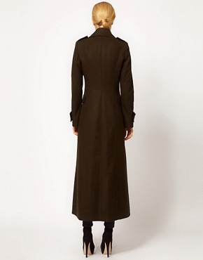 Image 2 ofMango Maxi Military Coat