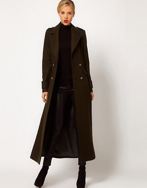 Image 4 ofMango Maxi Military Coat