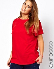 ASOS CURVE - T-shirt stile boyfriend