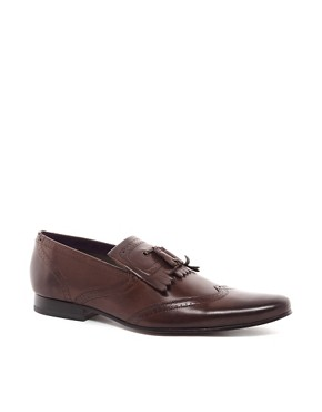 Image 1 ofTed Baker Alarias Leather Loafers