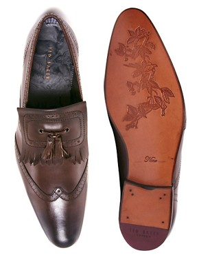 Image 3 ofTed Baker Alarias Leather Loafers