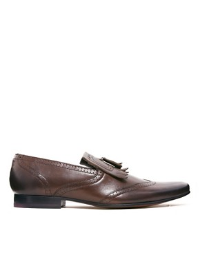 Image 4 ofTed Baker Alarias Leather Loafers