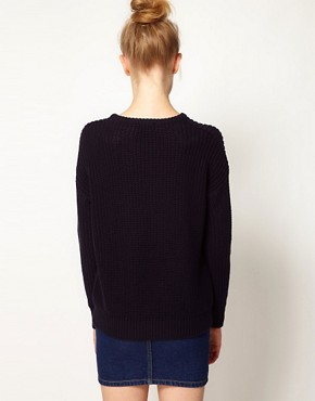 Image 2 ofAmerican Apparel Fisherman&#39;s Sweater