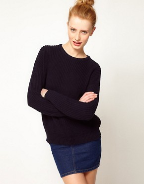 Image 1 ofAmerican Apparel Fisherman&#39;s Sweater