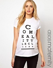 ASOS Maternity - Come a Little Closer - T-shirt