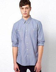 Plectrum By Ben Sherman Shirt 2 Finger Collar