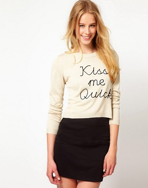 Image 1 ofPretty Vacant Kiss Me Quick Jumper
