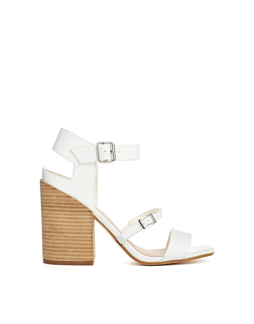 Image 2 of ASOS HATFIELD Heeled Sandals