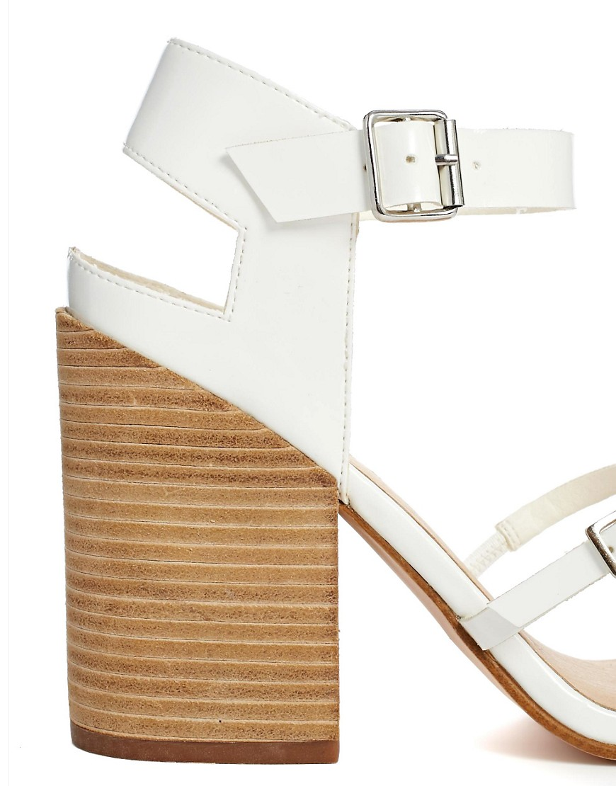 Image 3 of ASOS HATFIELD Heeled Sandals
