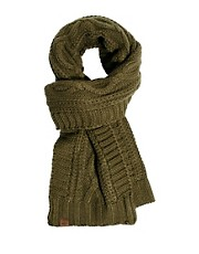 Dockers Scarf Cable Knit