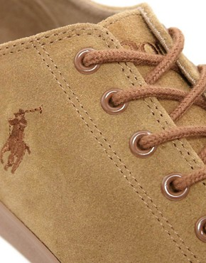 Image 2 ofPolo Ralph Lauren Ferguson Suede Plimsolls