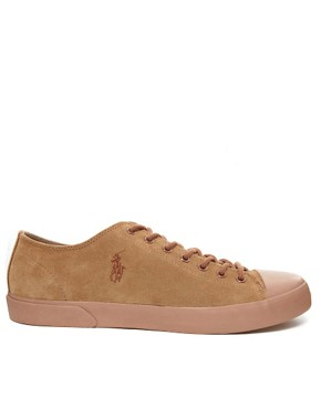 Image 4 ofPolo Ralph Lauren Ferguson Suede Plimsolls