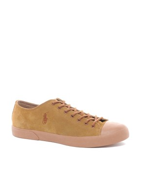 Image 1 ofPolo Ralph Lauren Ferguson Suede Plimsolls