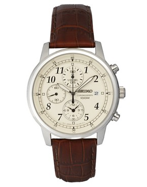 Image 1 ofSeiko Chronograph Watch SNDC31P1