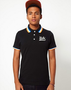 Image 1 ofUCLA Tipped Polo Shirt