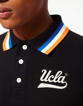 Image 3 ofUCLA Tipped Polo Shirt