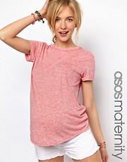 ASOS MATERNITY  Exklusives, gesprenkeltes T-Shirt