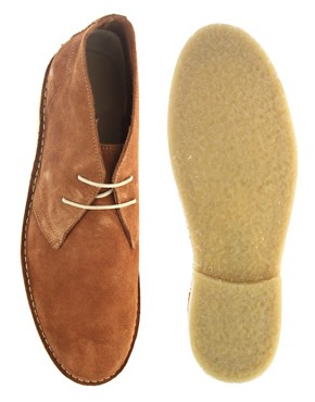 Image 3 ofASOS Desert Boots in Suede