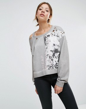 Cheap Monday Past Sweatshirt