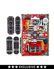 Nail Rock ASOS Exclusive Mirrored Graphic Kaleidoscope Nail Wraps